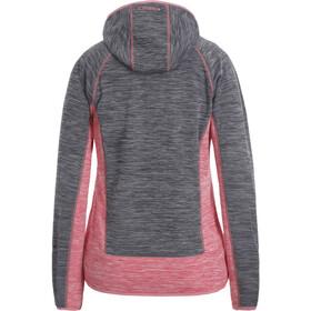 Icepeak Deltona Midlayer Jacket Women, grijs/rood